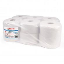 Бумага туалетная 200 м, ЛЮБАША/ЛАЙМА (T2), 1-слойная, ОТБЕЛЕННАЯ