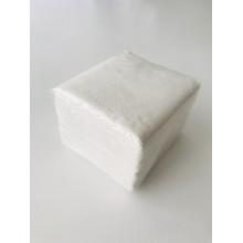 Салфетки бум. 24х24 1сл. 100 листтов белые, марка А