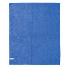 Тряпка для мытья пола из микрофибры, СУПЕР ПЛОТНАЯ, 70х80 см, синяя, LAIMA