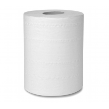 Полотенца бумажные рулонный (2сл. белые) 150 м, влагопрочные на втулке D-17см