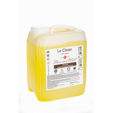 Концентрат, антибактериальное средство для мытья пола и стен. 5 литров., LC-FLW5000