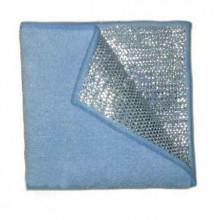 Салфетка из микрофибры скрабер 30х30 см, плотность 380 г/м2