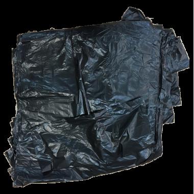 Мешок для мусора ПВД 90/120, 240 литров 1 штука.