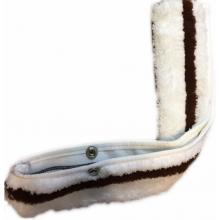 Шубка для мытья окон 35 см жесткий абразив ГИ 019/2-09
