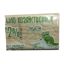 Мыло хозяйственное 72%, 200 гр., в упаковке