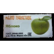 Туалетное мыло 75 гр. яблоко