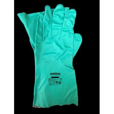 Перчатки зеленые прочные (U9444807)
