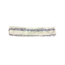 Шубка для мытья окон, микрофибра с мягким абразивом 35 см