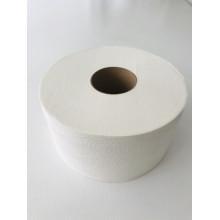 Туалетная бумага 2 сл белая 100% целлюлоза 200 метров